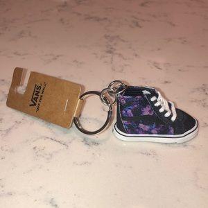 Vans Old Skool Hi Top Keychain Watercolors Purple